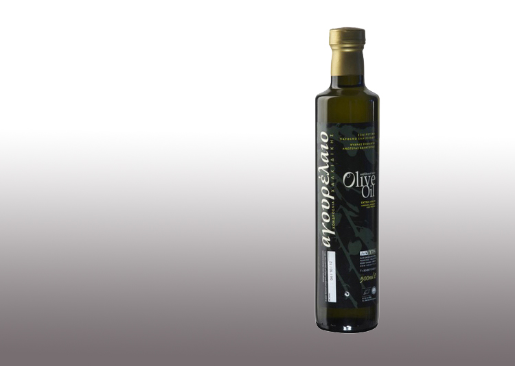 Organic early Harvest olive oil of Chalkidiki 500ml