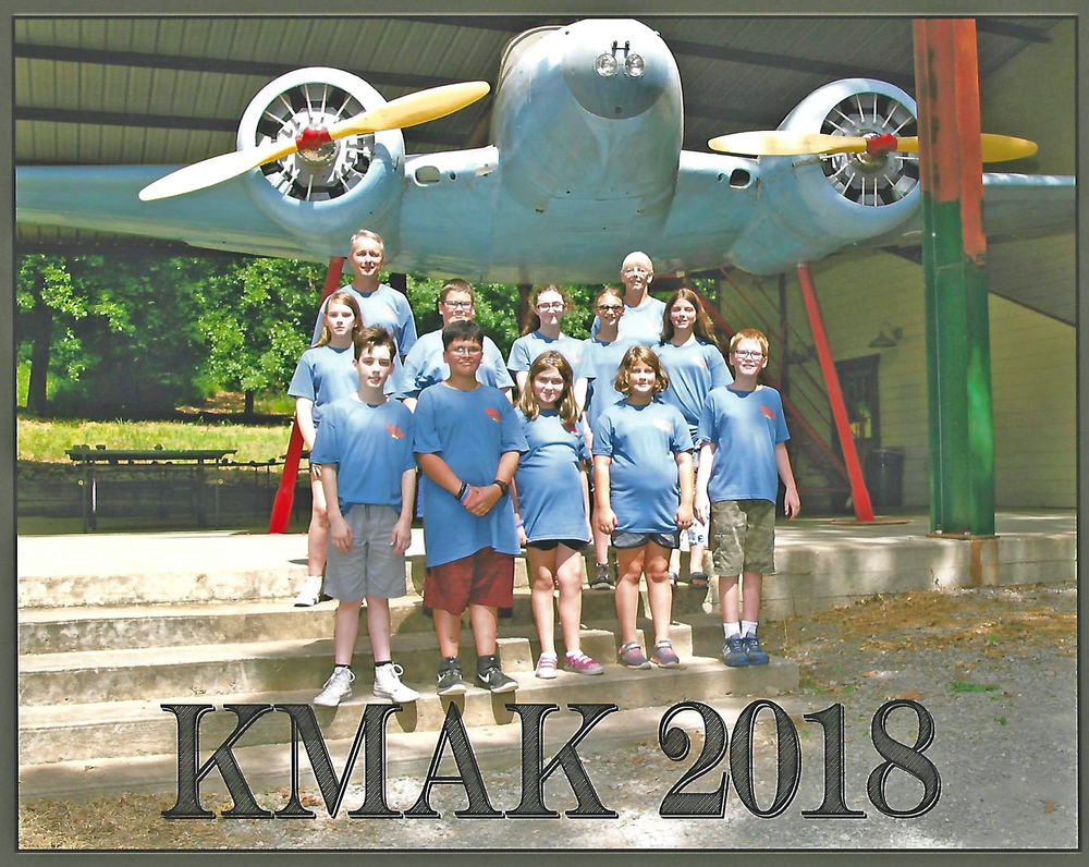 Kids' Kamp takes place in June for 3-6th graders.
