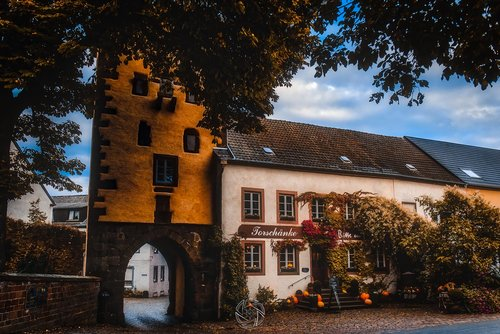 Historical Archway in Dudeldorf - Fall — Mr. Brian Walsh