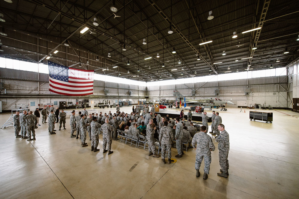 Retirement ceremony at Spangdahlem Air Base