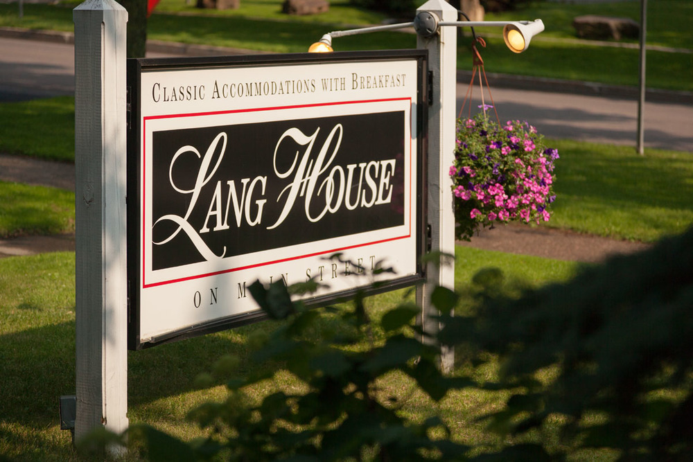 Welcome to the Lang House on Main Street