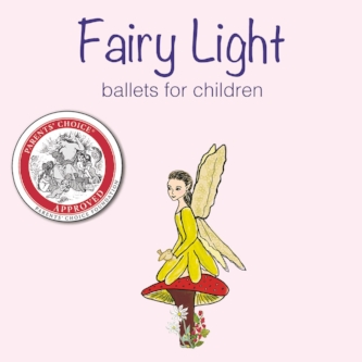 "Fairy Light - Listen This cd won a ""Parents' Choice Award!"" Gentle narration tells the story while beautiful music inspires the dance. Perfect for creative movement.  Children will love ""The Fairy Ballerina in the Music Box"" and ""The Enchanted Forest."""