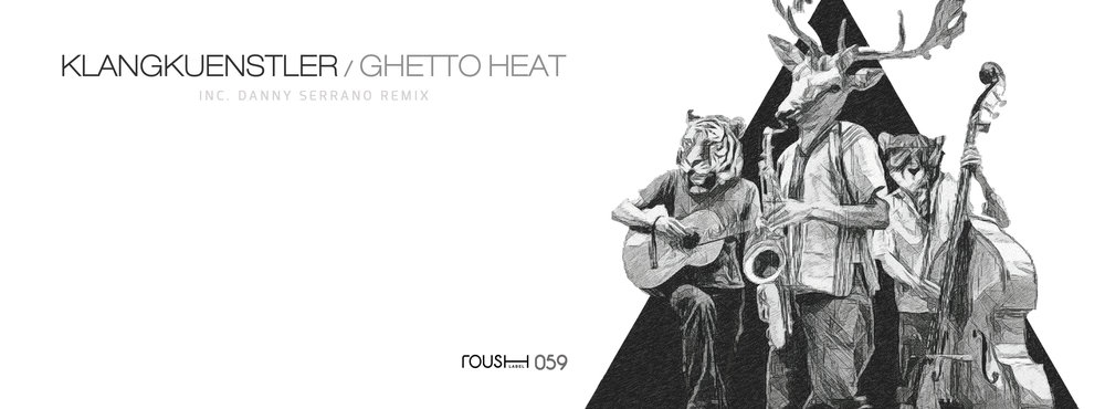 """Berlin-based artist, Klangkuenstler, is taking the reins of the music scene, proving to be a force to be reckoned with. His latest EP, """"Ghetto Heat"""" features three tracks: """"Heat it Up"""" and """"Ghetto Gospel"""" which also include a kickin' remix by Danny Serrano. What it should be called is the """"Party EP,"""" because it's sure to liven up any sullen environment. """"Heat it Up"""" is for sure a tech house vibe, but it also has old school breaks elements that permeates the body and coerces carefree movement. There's no sitting still while listening to this musical treat. Turn up the volume and get the party started on your own by purchasing your copy of this stunning release !!"""