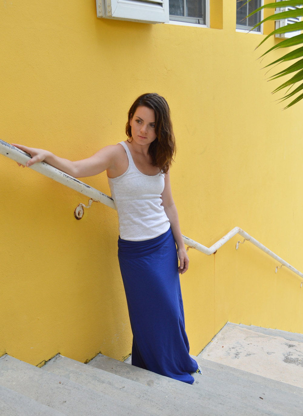 grey-tank-blue-anthropologie-skirt-target-peter-pilotto-slip-on-sneakers-style-blogger-nassau-bahamas.jpeg