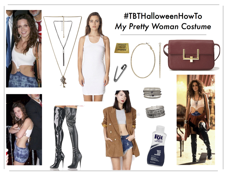 diy pretty woman halloween costume hooker how to