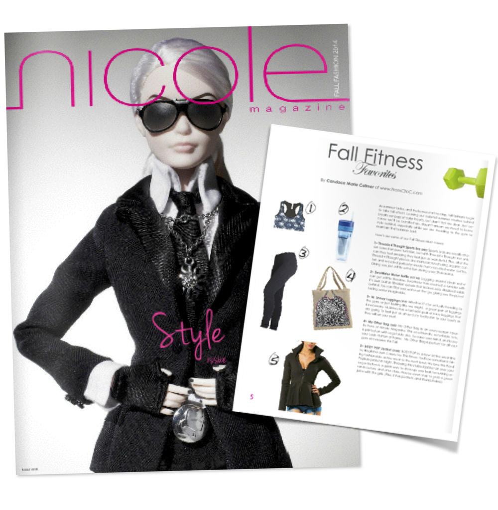 Nicole Magazine Barbie Cover
