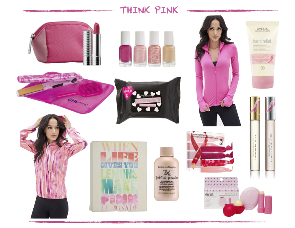 Think Pink Shop For The Cure // breast Cancer Awareness // FromCtoC