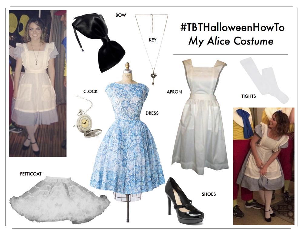 how-to-diy-alice-wonderland-costume-vintage-halloween.  sc 1 st  FromCtoC & TBTHalloweenHowTo: Alice u2014 FromCtoC