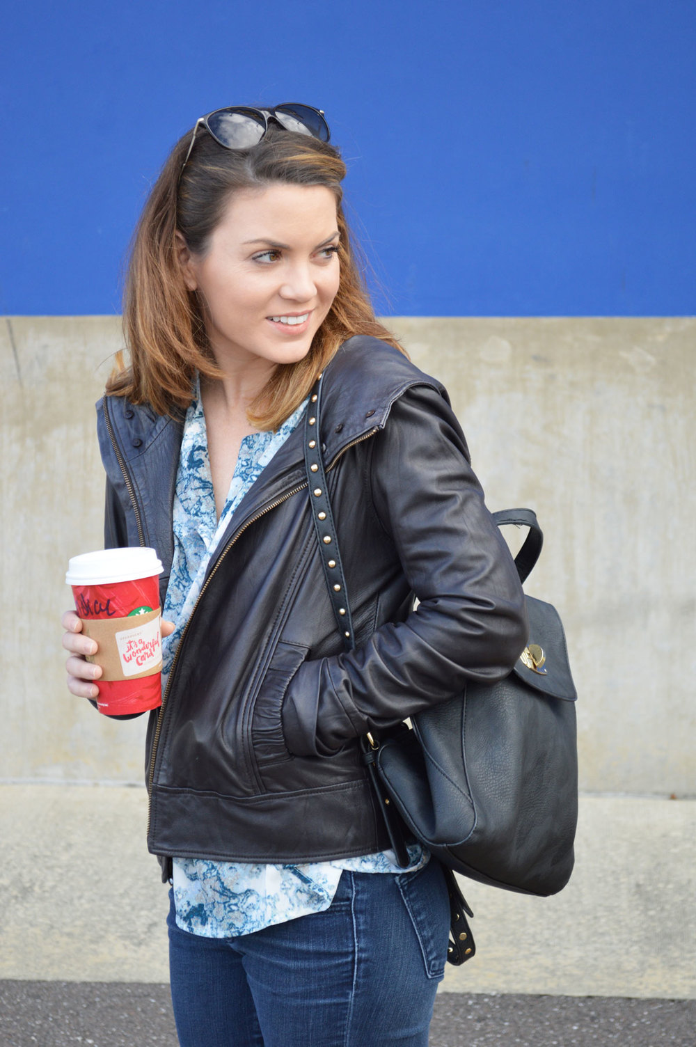 shoedazzle-backpack-wiw-fall-outfit-leather-jacket-forver21