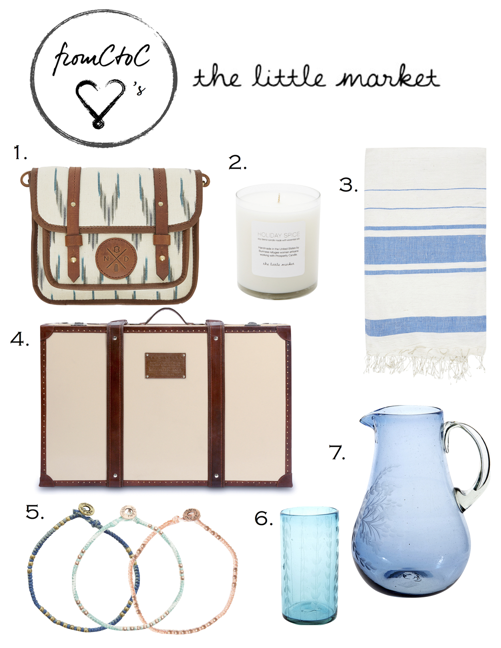 the-little-market-gift-guide-favorites-free-trade-ideas-lifestyle-bloger-vintage-lugagge-miami-fl-2014