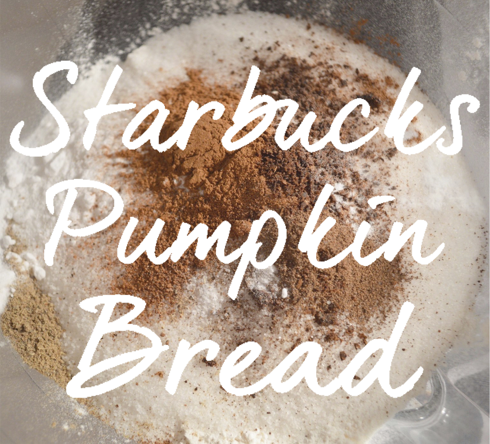 Starbucks Pumpkin Bread Hack PIC