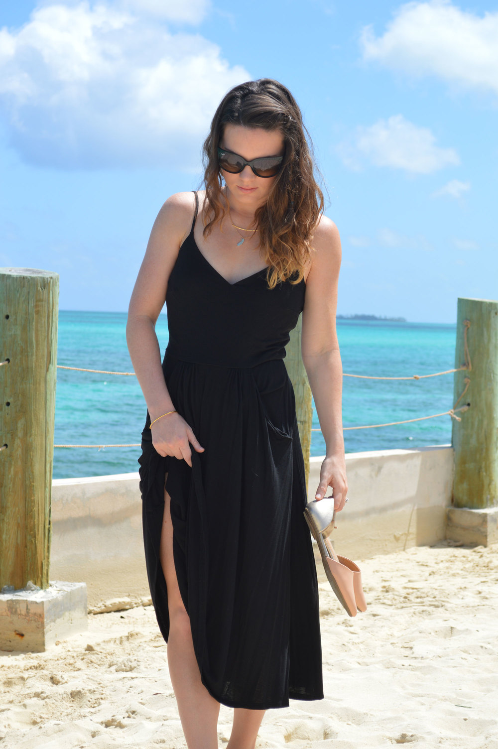 Ray-Ban-Cat-Sunglasses-Nassau-Bahamas-Top-Style-Blog-FromCtoC-Gorjana-Necklace.jpeg