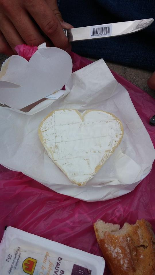 Heart Shaped Cheese in the Park