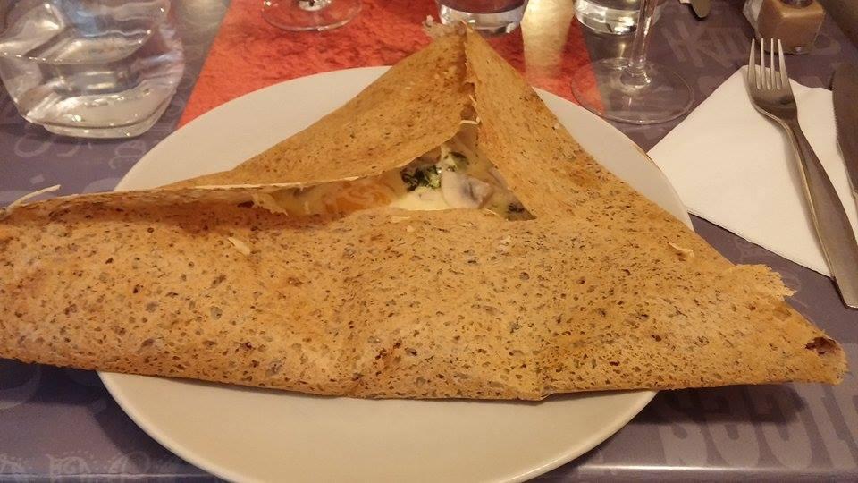 Crepe at Little Breizh