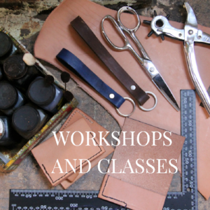 Leather workshops classes Philadelphia