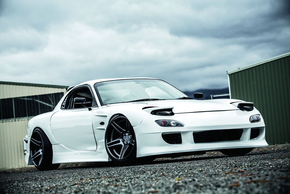 Nathan Champman's SR20DET-Powered Mazda RX-7 is bound to ruffle a few feathers.