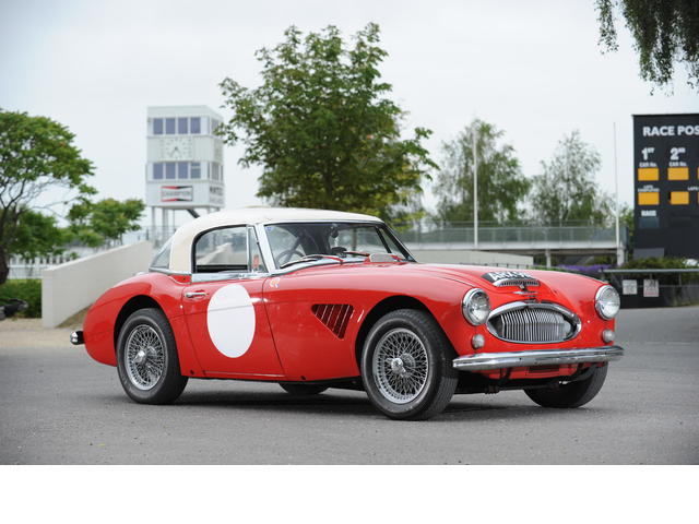 The ex-Paddy Hopkirk rally-winning Austin-Healey 3000