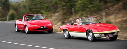 The Mazda MX-5 – a modern alternative to the classic Lotus Elan?