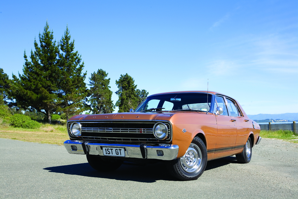 The original Aussie muscle car: 1967 Ford Falcon XR GT — The