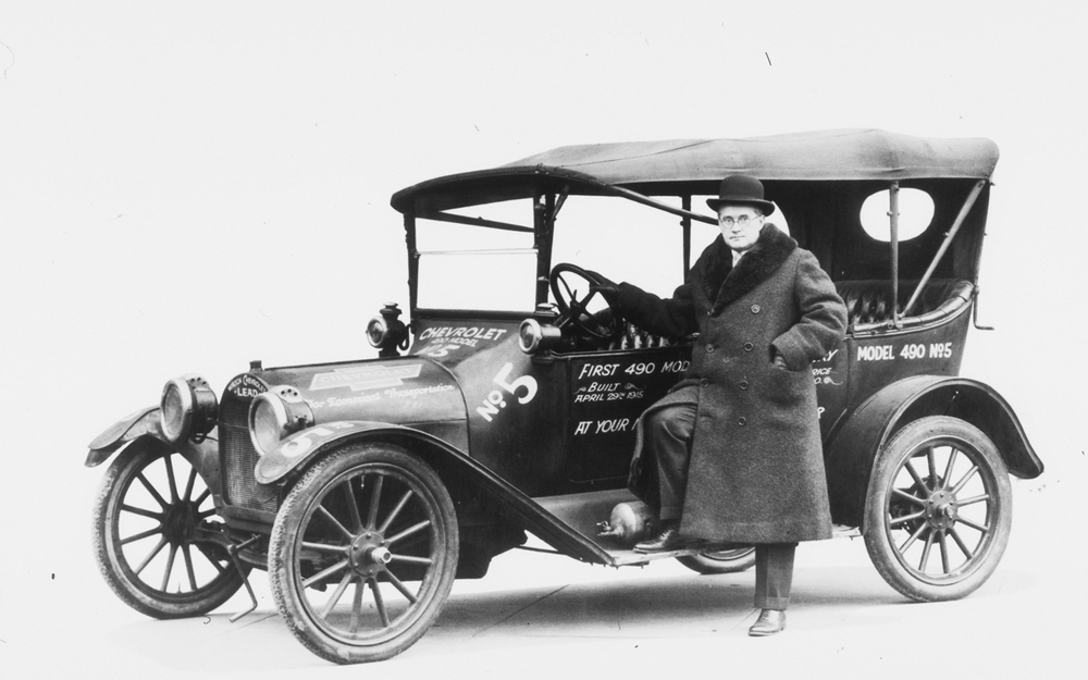 Chevrolet's Model T rival — the Four-Ninety