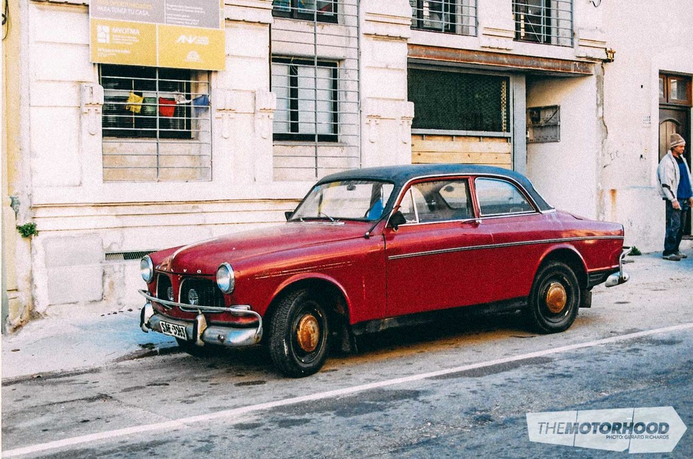 This Volvo Amazon looked fairly straight. Spotted in Palermo, Buenos Aires