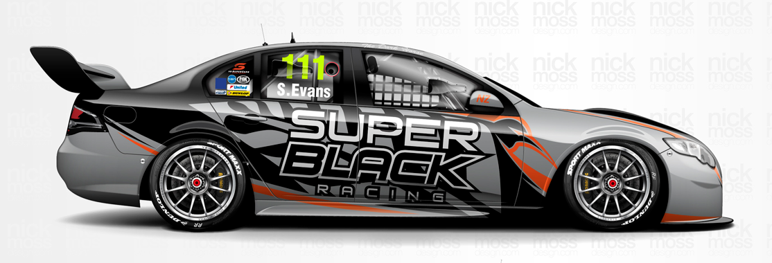 Simon Evans To Join Supercars With Super Black Racing The