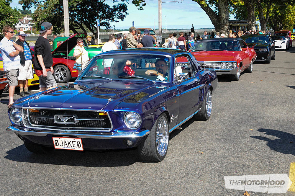 American Muscle Car Club Invades Wanganui The Motorhood - Muscle car club