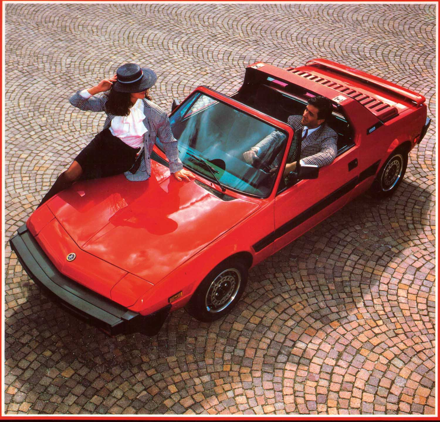 Motor Man Fiats X19 The First Affordable Mid Engined Car The
