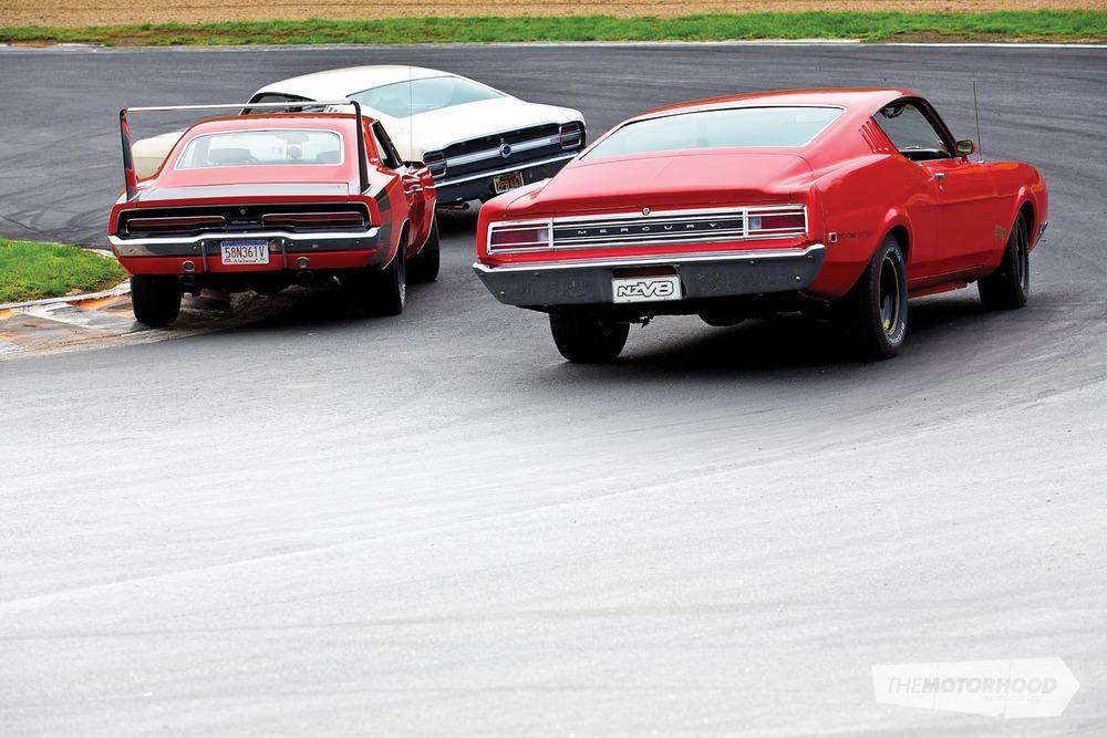 Of Those Five Cars Robert Has The  Dodge Daytona And  Ford Torino Talladega While Andrew Has The  Mercury Cyclone Spoiler Ii You See Here