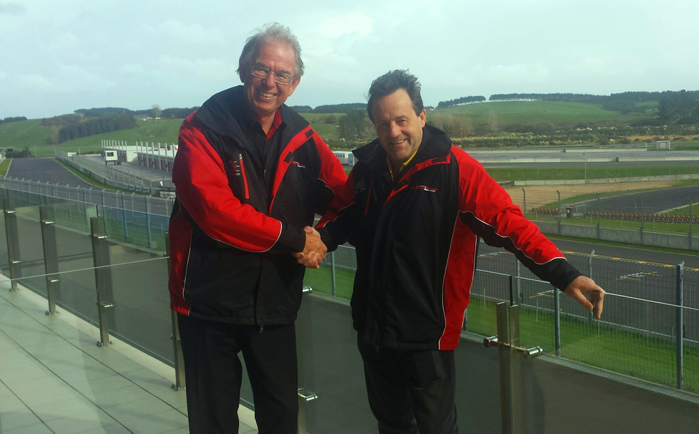 Tony Quinn (R) purchases Hampton Downs Motorsport Park