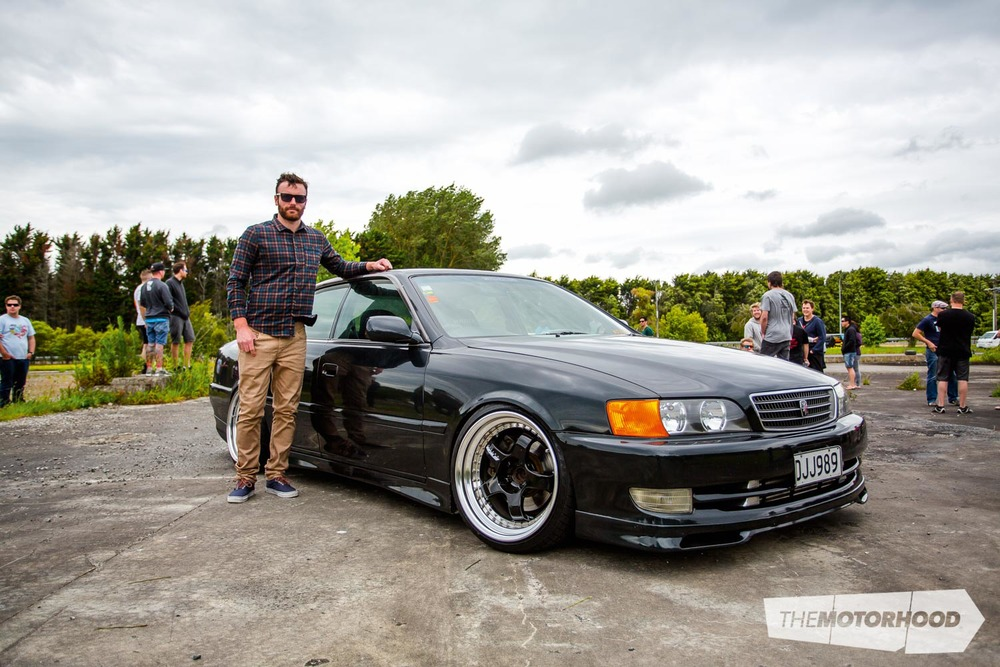 Name: Troy Griffin Car: 1998 JZX100 Chaser  Wheels: 18x9-inch (+6)/18x10-inch (+18) Work Meister