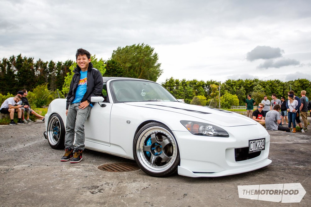 Name: Phil Tran Car: 2004 Honda S2000 Wheels: 18x8-inch/18x0.5-inch Work Meisters SP1 3-piece