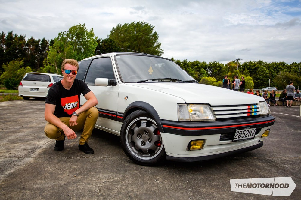 Name: Rob Wengert Car: 1.9-litre 405-powered Peugeot 205 GTi Wheels: Stock as a rock