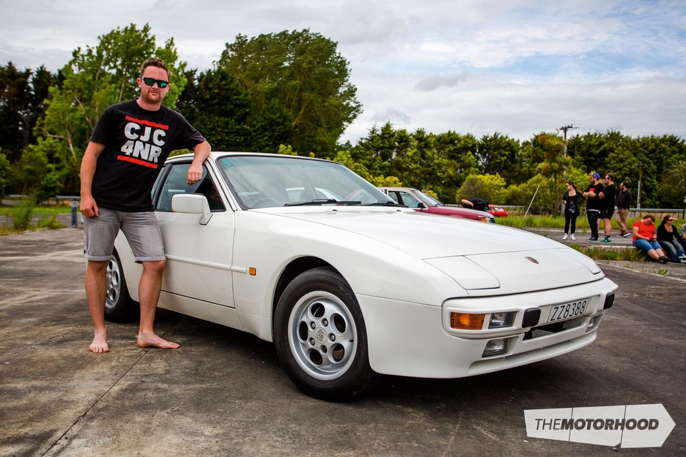Name: Richard Opie Car: 1987 Porsche 944 Wheels: Factory (en route from Japan)