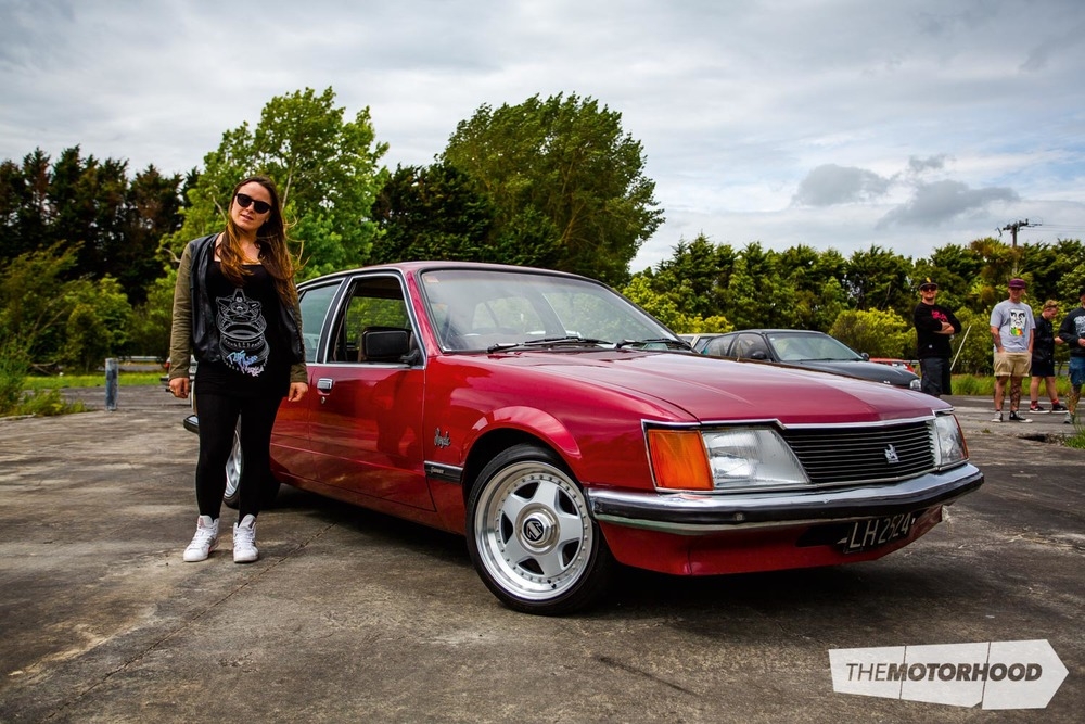 Name: Gabrielle Stannard / Anae Car: 1983 Commodore VH Wheels: 15x7-inch Momo Star