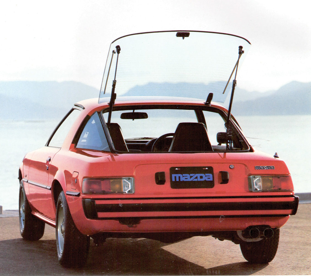 Mazda Rx 7 The Motor Man Analyses A Contemporary Classic 83 Rx7 Engine Wiring Diagram Japanese
