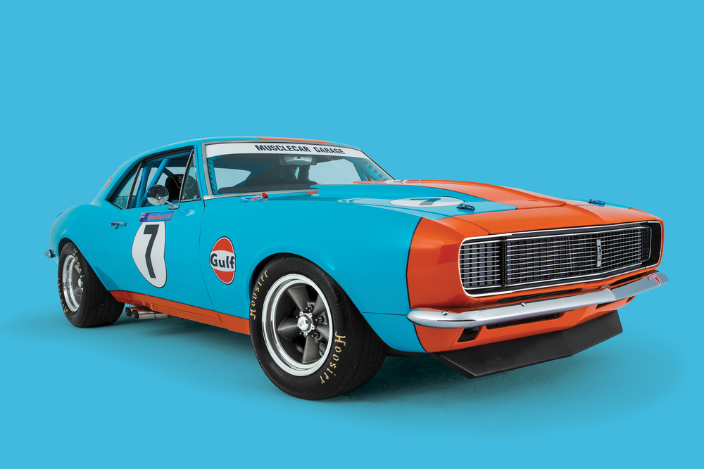 Gulf Warfare Dave Sturrock And His 1967 Chevrolet Camaro Rs Ss The Motorhood