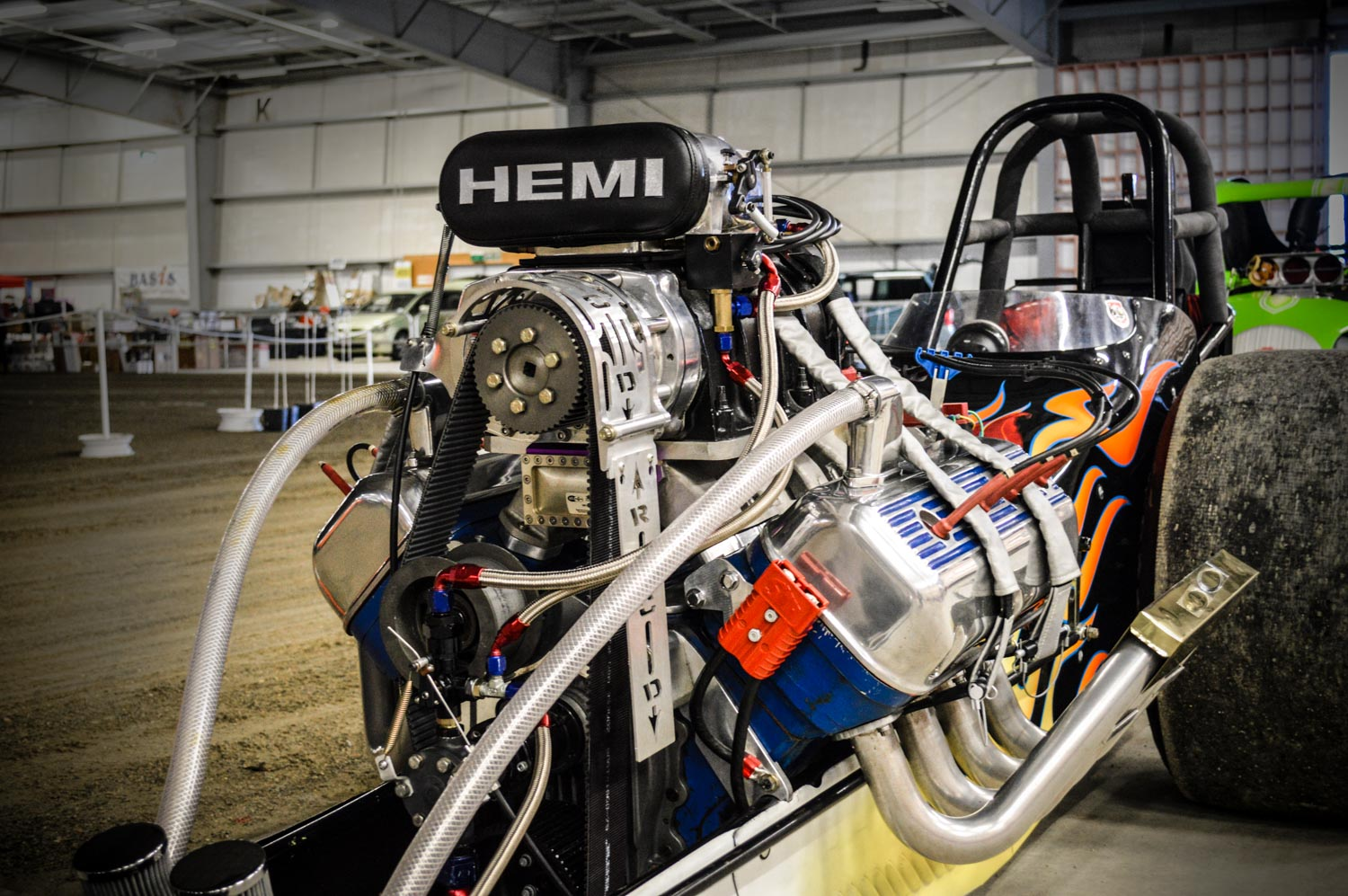 Weekly Motor Fix: 'Hell Razor' blown Hemi front-engined dragster