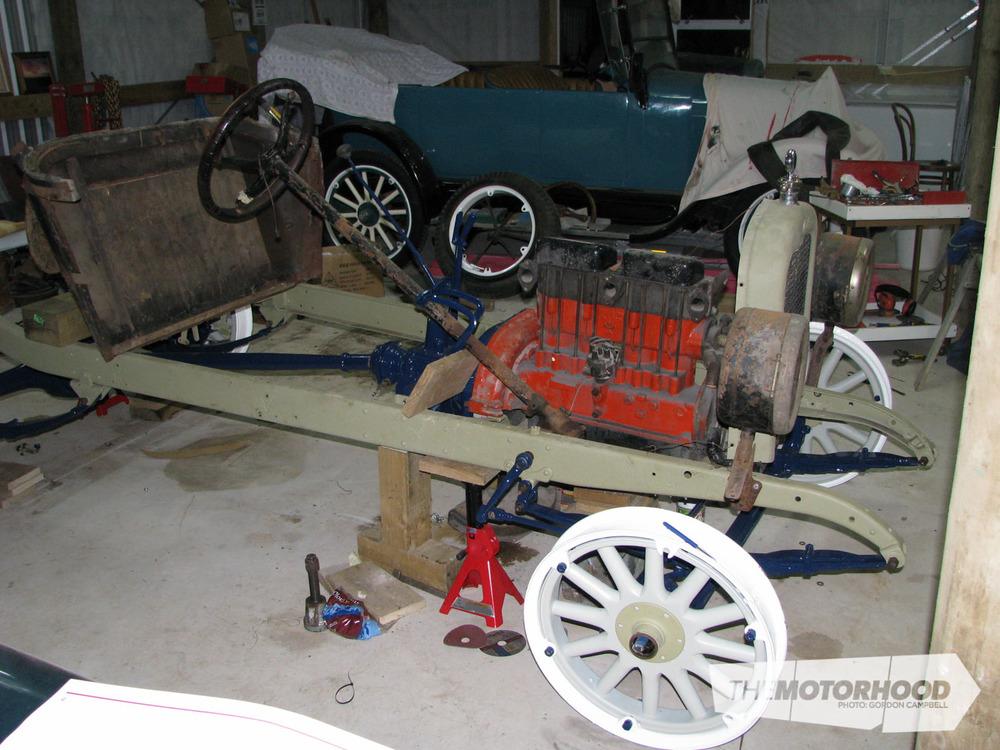 Nigel Fraser, Chevrolet Speedster under construction (4).jpg