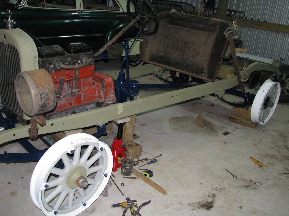 Nigel Fraser, Chevrolet Speedster under construction (6).jpg