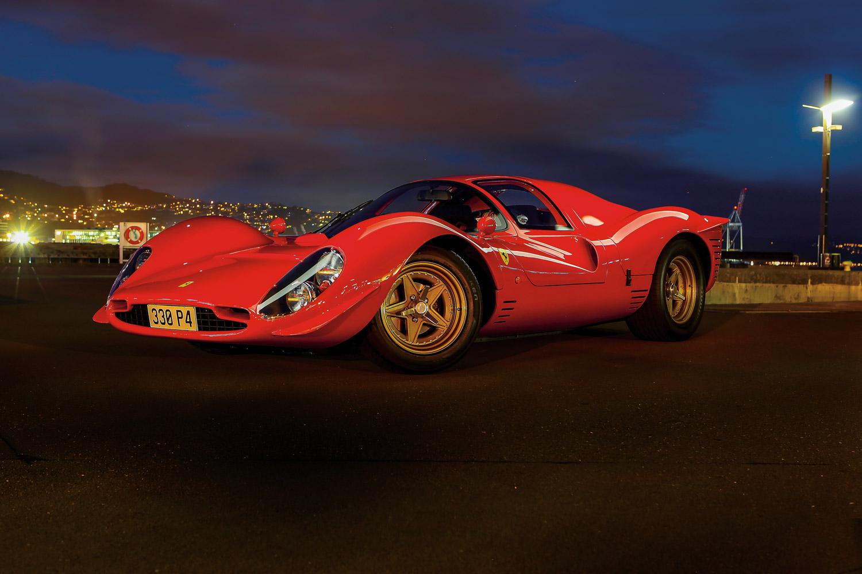 New Zealandu0027s Own Remarkable Ferrari 330 P4 Replica