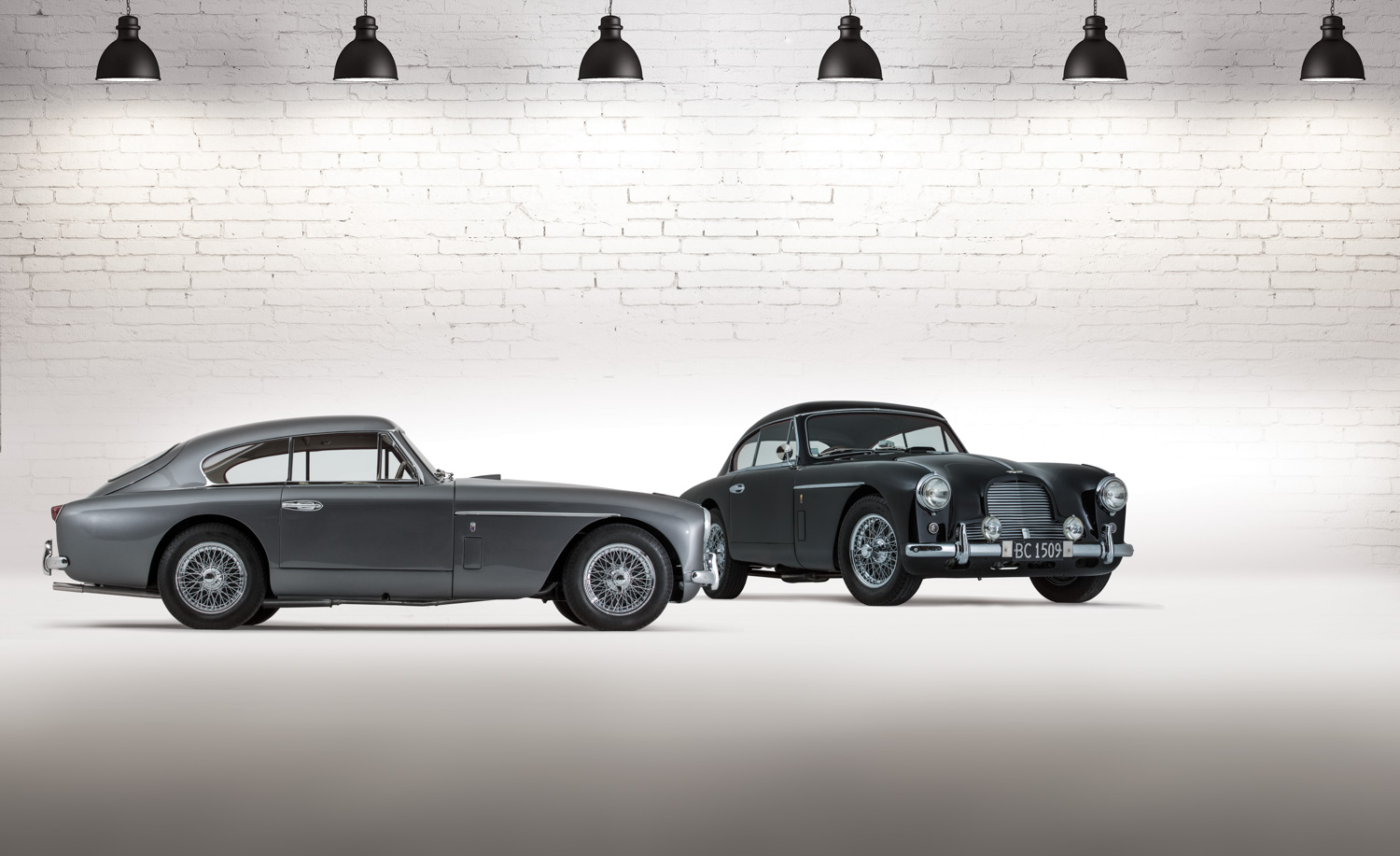 Dynamic Duo Aston Martin DB Mk II The Motorhood - Aston martin db2