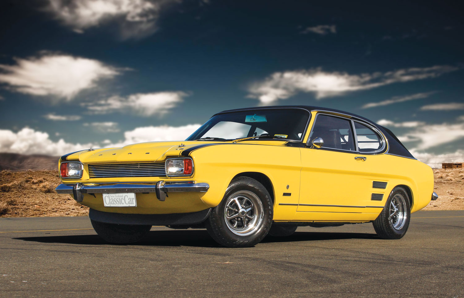 A Perana V8 Ford Capri that\'s a long way from home — The Motorhood