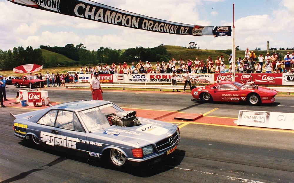 New Zealand\'s doorslammer drag racing history, part two — The Motorhood