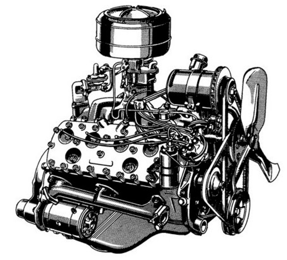 The pioneering flathead v8s did have their flaws though cracking was common as was oil starvation when turning the car around hard corners