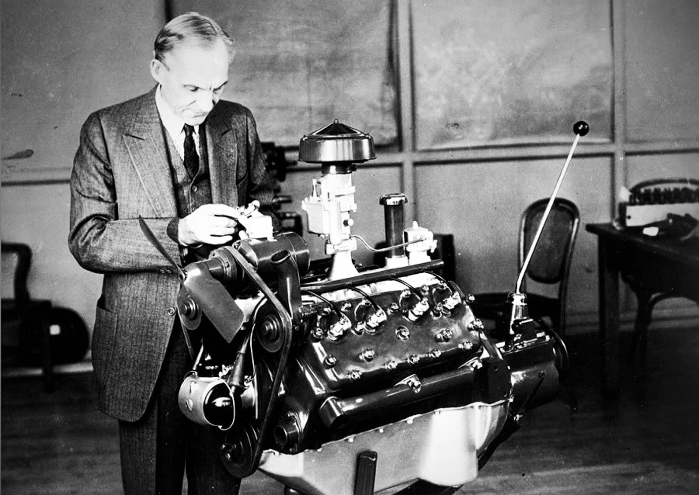 the history of ford's iconic flathead engine