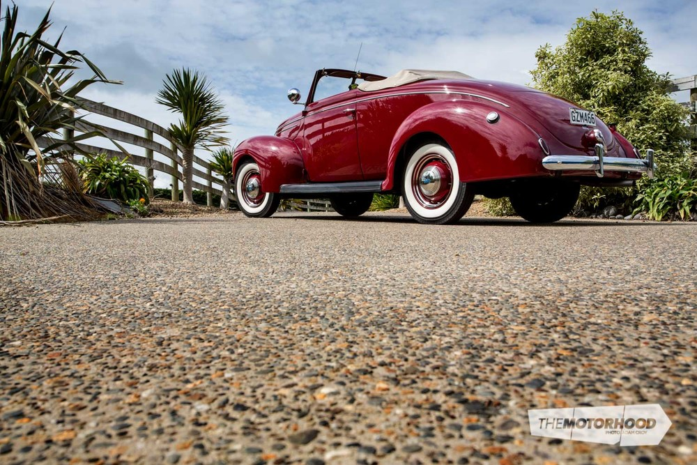 Flathead favourite: 1939 Ford Coupe convertible — The Motorhood