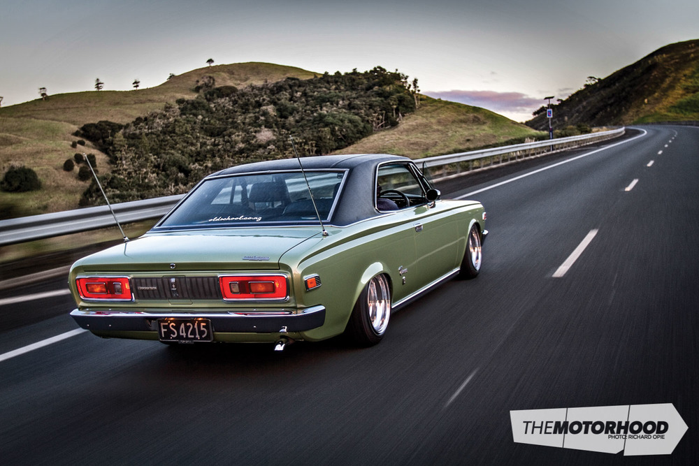 A sublime, slammed u201969 Toyota Crown u2014 The Motorhood