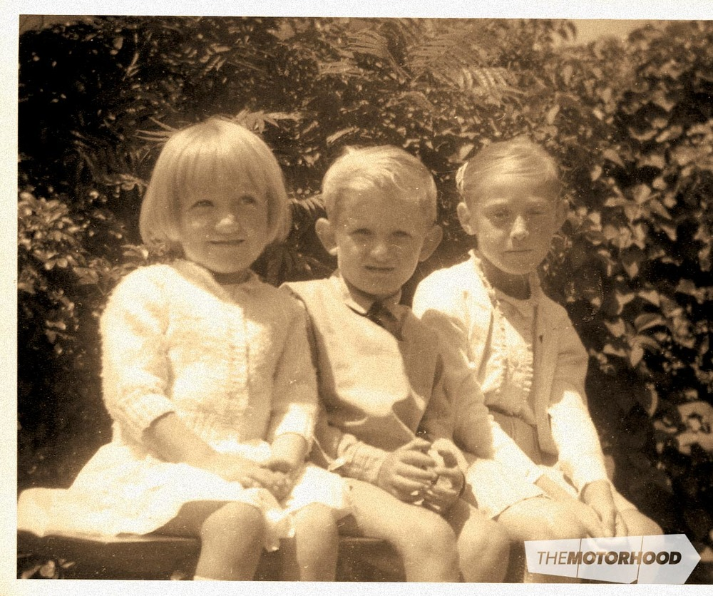 Trevor and Lorraine's children, right to left: Pamela O'Grady (now a self-employed interior colour and furnishing consultant), Paul Stanley-Joblin (now a self-employed multi-award-winning architectural draughtsman, and Carol Rendle (now a self-employed interior decorator)