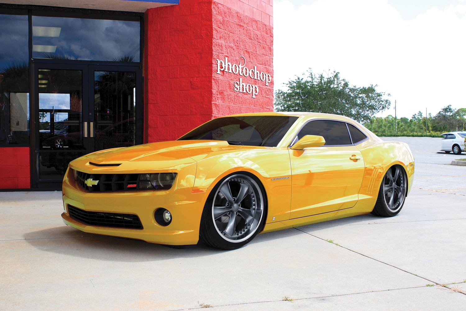 The chop shop: learn how to Photoshop your ride — The Motorhood